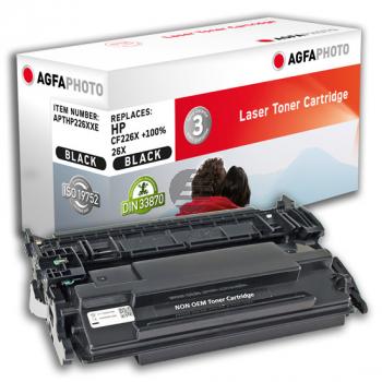 Agfaphoto Toner-Kartusche schwarz HC plus (APTHP226XXE) ersetzt CF226X / 26X