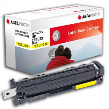 Agfaphoto Toner-Kartusche gelb (APTHPCF402XE)