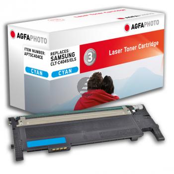 Agfaphoto Toner-Kit cyan (APTSC404CE) ersetzt CLT-C404S / C404