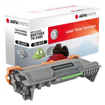 Agfaphoto Toner-Kit schwarz HC (APTBTN3480E) ersetzt TN-3480