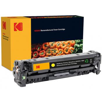 Kodak Toner-Kartusche gelb (185H032204) ersetzt CE322A / 128A