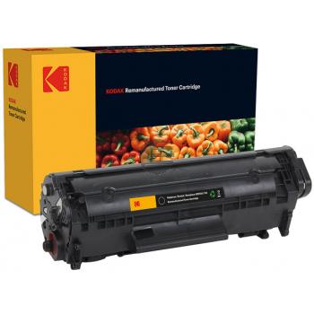Kodak Toner-Kartusche    schwarz     (185H261201) ersetzt Q2612A (12A), 7615A005 (703)