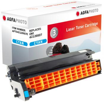 Agfaphoto Fotoleitertrommel cyan (APTO42126607E) ersetzt 42126607