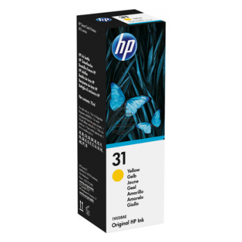 HP Tintennachfüllfläschchen gelb (1VU28AE, 31)