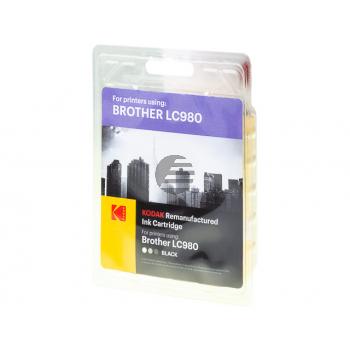 Kodak Tintenpatrone schwarz (185B098185) ersetzt LC-980BK
