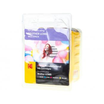 Kodak Tinte gelb Cyan Magenta schwarz (185B098521)