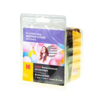 Kodak Tintenpatrone gelb cyan magenta schwarz (185B124021) ersetzt LC-1240VALBPDR