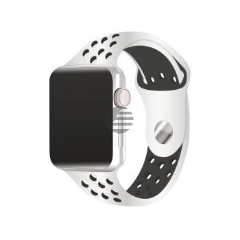 Apple Watch Nike+ Series 4 Cell (LTE) 40 mm Alu silver, pure platin./Sport black
