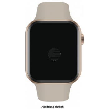 Apple Watch Series 4 Cell (LTE) 40 mm Edelstahl gold, Sport stone