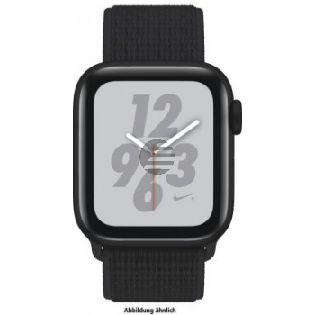 Apple Watch Nike+ Series 4 GPS 44 mm Alu space grey, Loop black