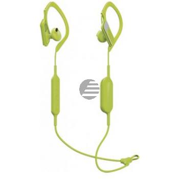 Panasonic RP-BTS10E Bluetooth In-Ear Sport-Kopfhörer, gelb