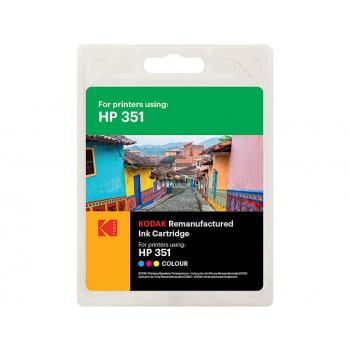 Kodak Tintendruckkopf cyan/gelb/magenta (185H035113) ersetzt CB337EE (351)