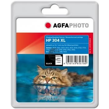 Agfaphoto Tintendruckkopf schwarz HC (APHP304XLB) ersetzt N9K08AE / 304XL