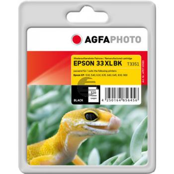 Agfaphoto Tintenpatrone schwarz HC (APET335BD) ersetzt C13T33514010 / T3351