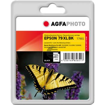 Agfaphoto Tintenpatrone schwarz HC (APET790BD) ersetzt C13T79014010 / T7901