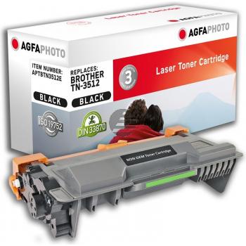 Agfaphoto Toner-Kit schwarz HC plus (APTBTN3512E) ersetzt TN-3512