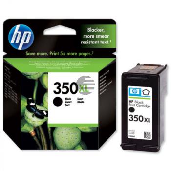 HP Tintendruckkopf schwarz HC (CB336EE#ABE, 350XL)