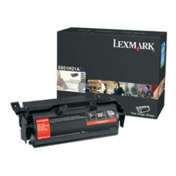 Lexmark Toner-Kartusche Prebate Labels schwarz (X651H04E)