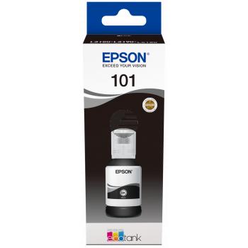 Epson Tintenflasche schwarz (C13T03V14A, 101)