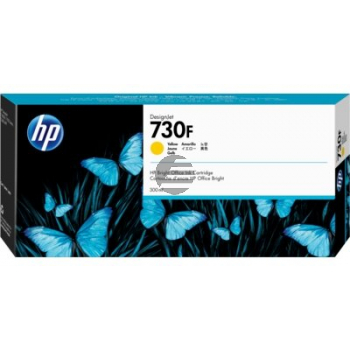 1XB25A HP DNJT1600 TINTE YELLOW HP730 300ml