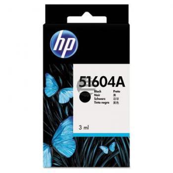 HP Tintenpatrone Normalpapier schwarz (51604A)