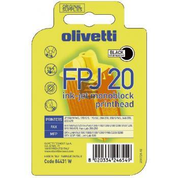 Olivetti Tintendruckkopf schwarz (84431, FPJ-20)