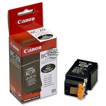 Canon Tintendruckkopf schwarz (0895A002, BC-20)