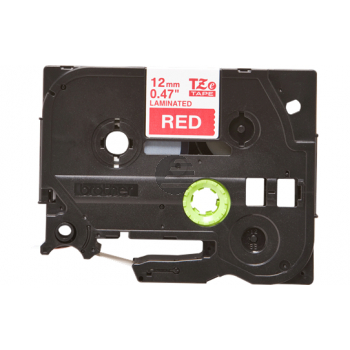 Brother Schriftbandkassette rot/weiß (TZE-435)