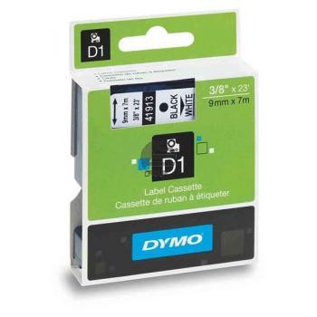 Dymo Schriftbandkassette schwarz/weiß (40913)