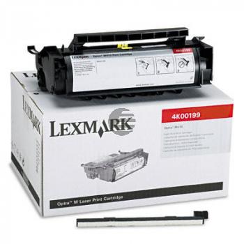 Lexmark Toner-Kartusche schwarz HC plus (4K00199)