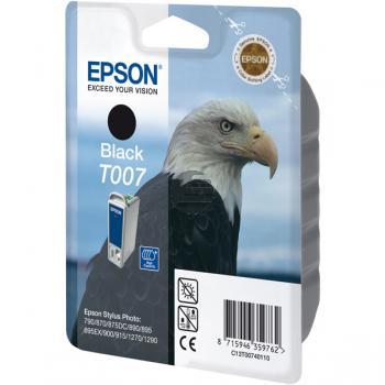 Epson Tinte schwarz (C13T00740110, T007)