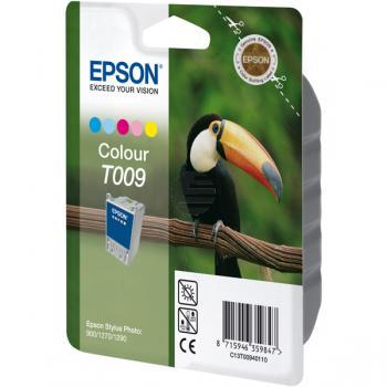 Epson Tinte Cyan/gelb/Magenta/light Cyan/light Magenta (C13T00940110, T009)