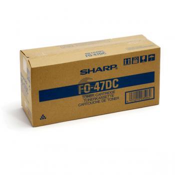 Sharp Toner-Kit Entwickler schwarz (FO-47DC U840714A)