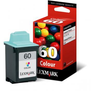 Lexmark Tintendruckkopf 3-farbig (17G0060, 60)