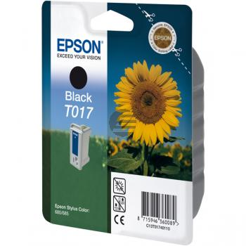 Epson Tintenpatrone schwarz (C13T01740110, T017)