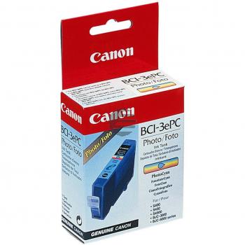Canon Tinte Photo-Tinte Photo Cyan (4483A002, BCI-3EPC)