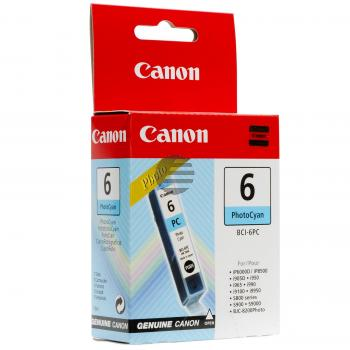 Canon Tintenpatrone Photo-Tinte Photo cyan (4709A002, BCI-6PC)