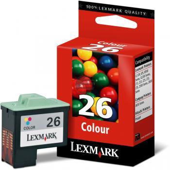 Lexmark Tinte farbig HC (10N0026, 26)