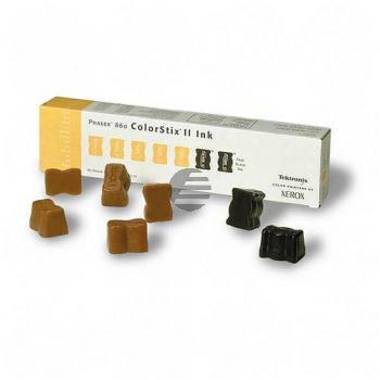 Tektronix ColorStix 2bk/5y 5x gelb schwarz (016-1905-01)