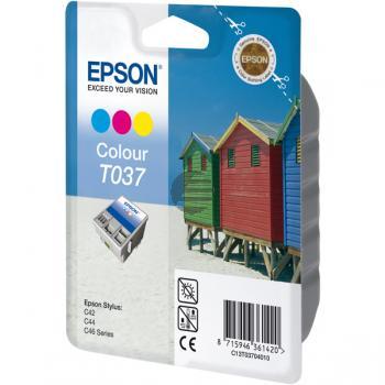 Epson Tintenpatrone cyan/gelb/magenta (C13T03704010, T0370)