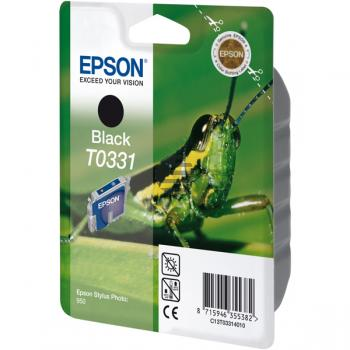 Epson Tintenpatrone schwarz (C13T03314010, T0331)