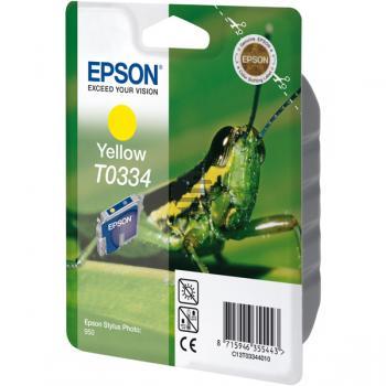 Epson Tintenpatrone gelb (C13T03344010, T0334)