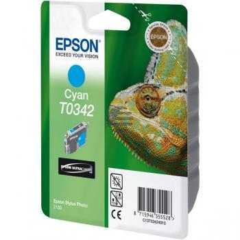 Epson Tintenpatrone cyan (C13T03424010, T0342)