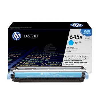 HP Toner-Kartusche cyan (C9731A, 645A)
