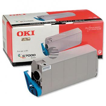 OKI Toner-Kit schwarz (41963004, TYPE-C4)