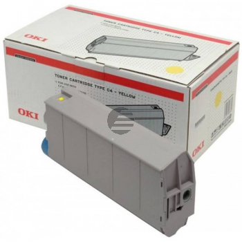 OKI Toner-Kit gelb (41963001, TYPE-C4)