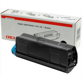OKI Toner-Kit schwarz HC (42127408, TYPE-C6)