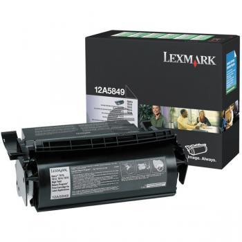 Lexmark Toner-Kartusche Prebate speziell für Etiketten schwarz (12A5849)