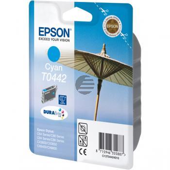 Epson Tinte Cyan HC (C13T04424010, T0442)