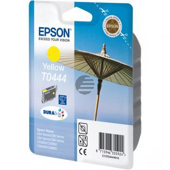 Epson Tinte gelb HC (C13T04444010, T0444)